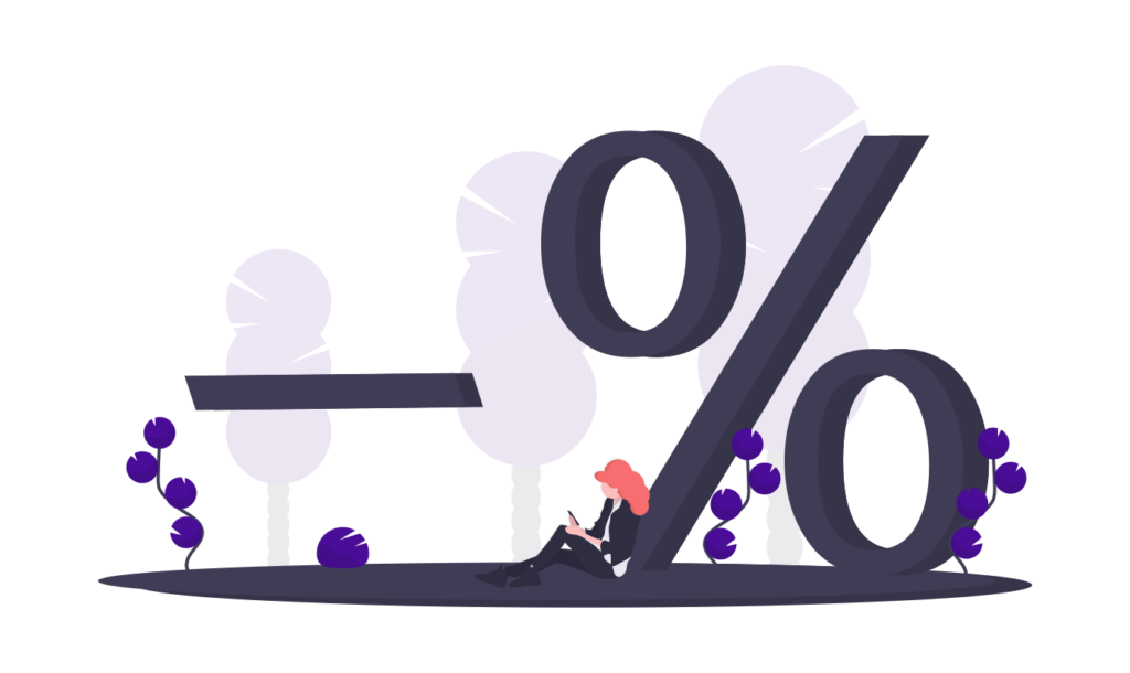 Illustration of a discount