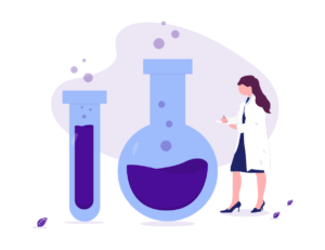 Illustration of the private testing labs that support better thyroid health