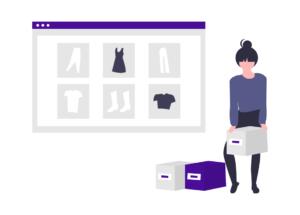 Illustration of branded goods